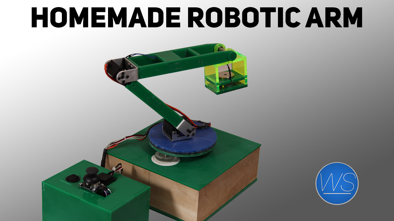 how to build a robotic arm from scratch